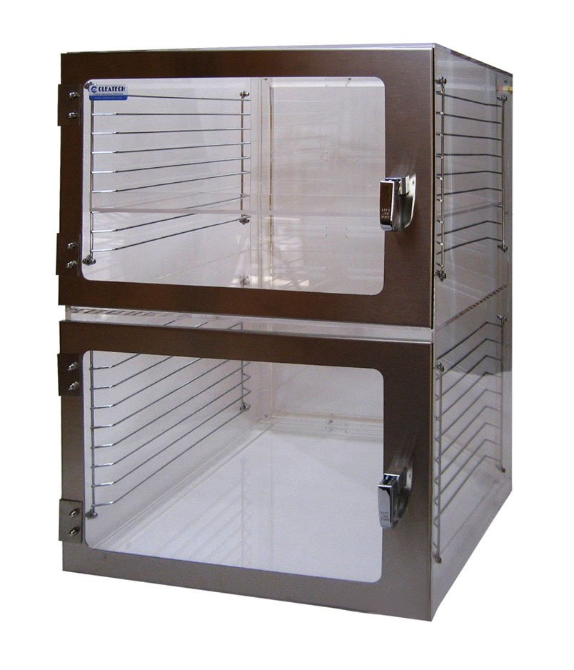 Desiccator Cabinet Two Door Clear Acrylic