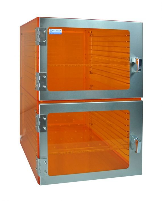 Amber Acrylic Desiccator Cabinet – Cleatech