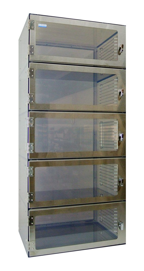 Desiccator Five Door Cabinet 1500 Series by Cleatech