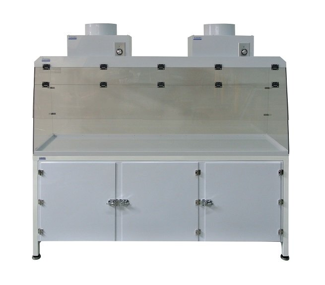Ducted Fume Hood with Base Cabinet