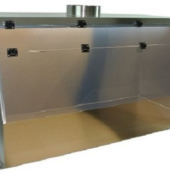 Stainless Steel Ducted Fume Hood - Cleatech