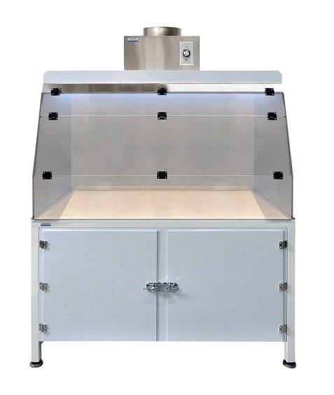 Stainless Steel Hood with Base Cabinet_Small