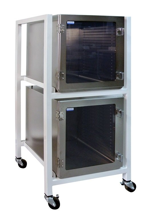 Two-Level Stainless Steel Desiccator Cabinet