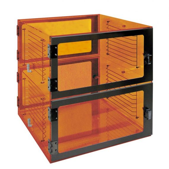 Two door Pass-through-Amber-24x24x24 by Cleatech