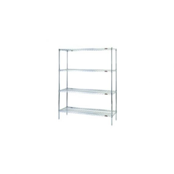 Quality Cleanroom Equipment – Affordable Cleanroom Equipment – Wire Shelving Rack – EAGLEgard A5-86-1860E by Cleatech LLC