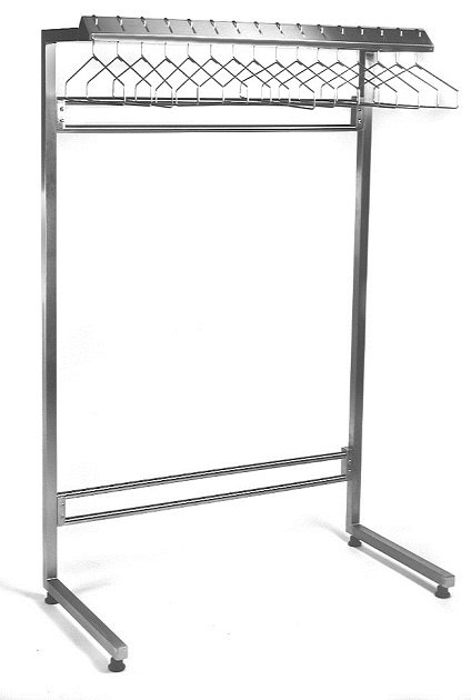 Freestanding Cantilevered Rack