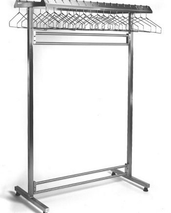 Freestanding Double Rack