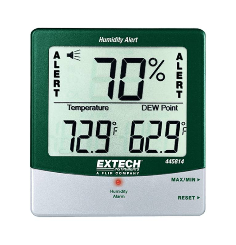 Big Digit Hygro-Thermometer with Dew Point