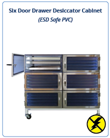 ESD Safe - Drawer Desiccator