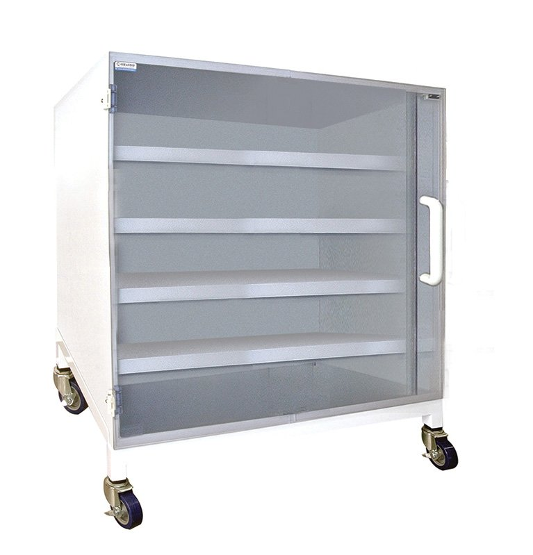 Polypropylene Storage Cabinet with 4 Shelf
