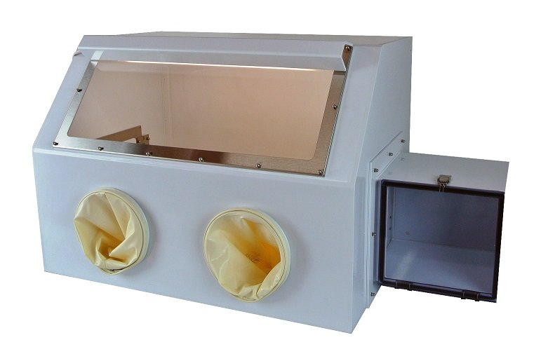 Polypro Glove box with Extrenal mount light