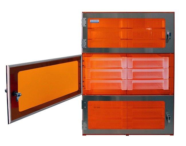 Sliding Tray Desiccator 3 Door