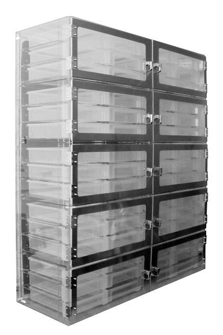 Tote Box Desiccator 10 Door