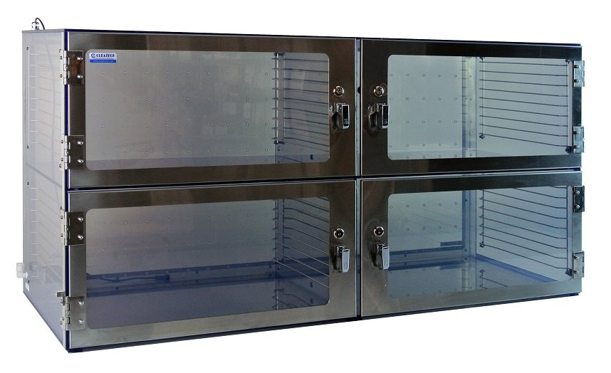 Desiccator Four Door Cabinet 1500 Series – Cleatech