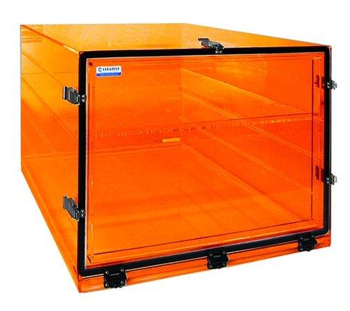 Desiccator Large Amber