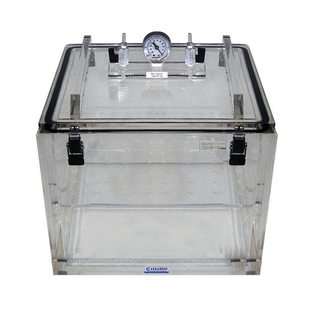 Vacuum Desiccator Removable Lid Clear Acrylic 20wx16dx14h