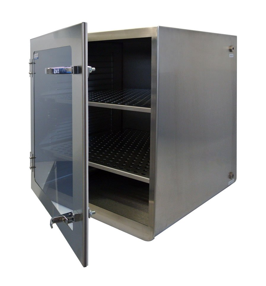 One door stainless steel desiccator dry storage cabinet for 1 door cabinet