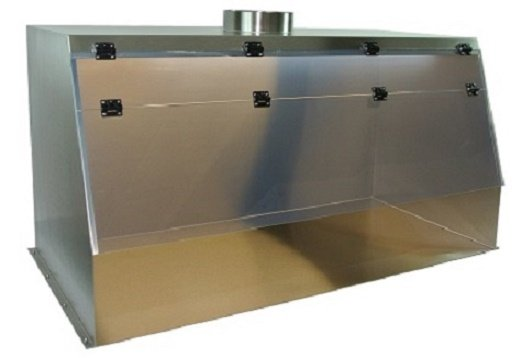 Stainless Steel Ducted Fume Hood – Cleatech