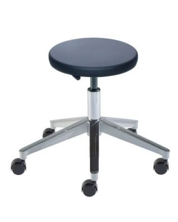 "TX Series ,Cleanroom , Cast Aluminum , Medium Seat Height 16""-23"""