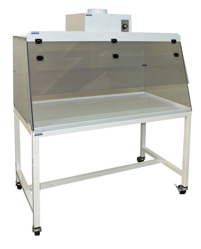 Clear View Fume Hood with Stand
