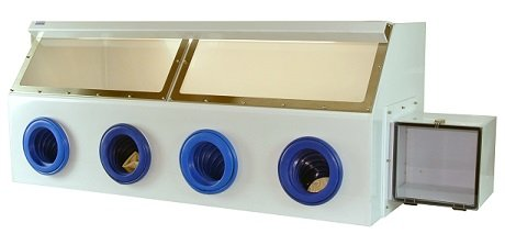 Four-port Glovebox-Polypropylene