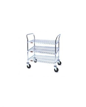 Heavy Duty Utility Carts , Three-shelf units