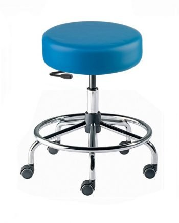 "Rexford Vacuum Formed RX-VF Series Laboratory Stools Tubular Steel 17""-22""Height"