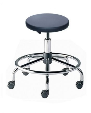 "TX Series ,Cleanroom ESD Stools, Tubular Steel ,Low Seat Height 15""-19"""
