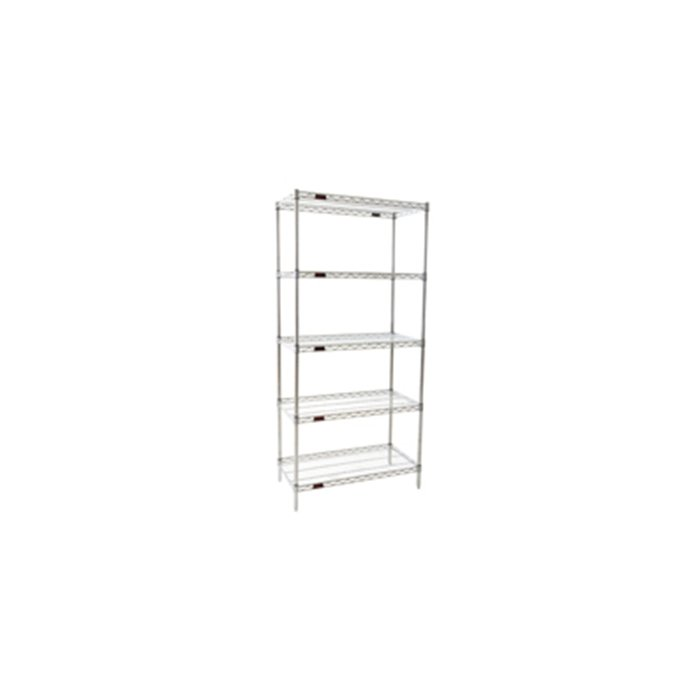 Cleanroom Equipment - Durable Cleanroom Equipment - Reliable Cleanroom Equipment - EAGLEgard Wire Shelving Rack by Cleatech LLC
