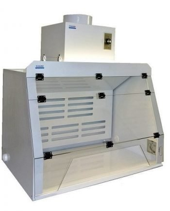 Ventilated Containment Enclosure with Double Filter