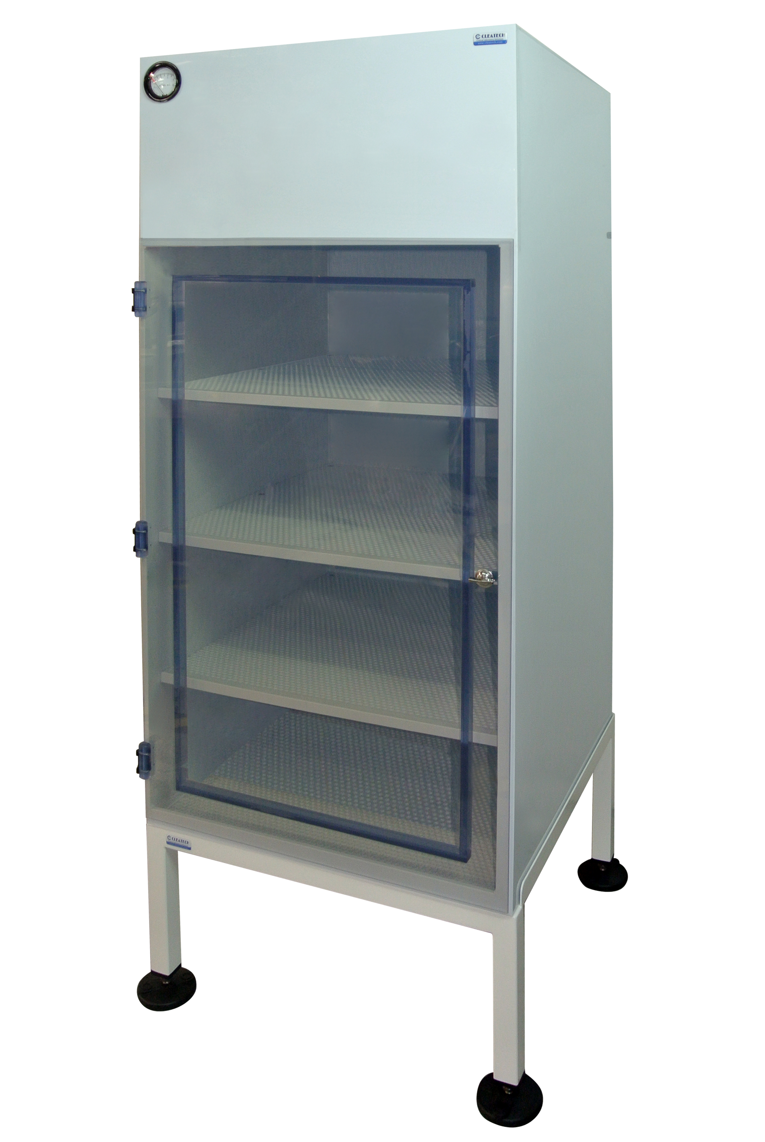 Laminar Airflow Cabinet with Amber Acrylic Door 2 feet Cleatech