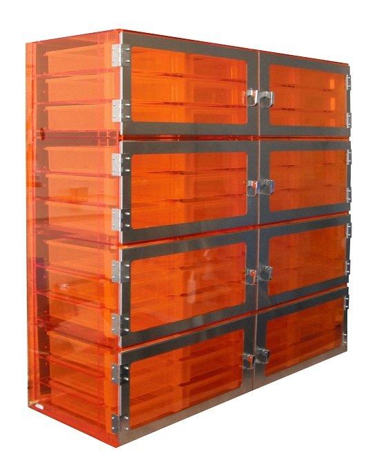 Tote Box desiccator cabinets