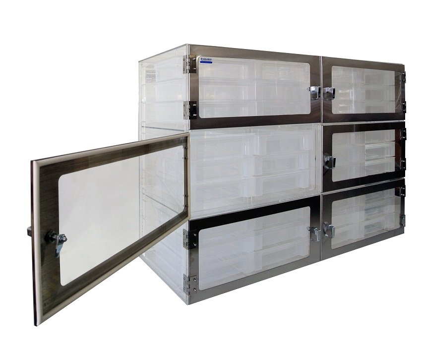 Drawer Desiccator 6-Open