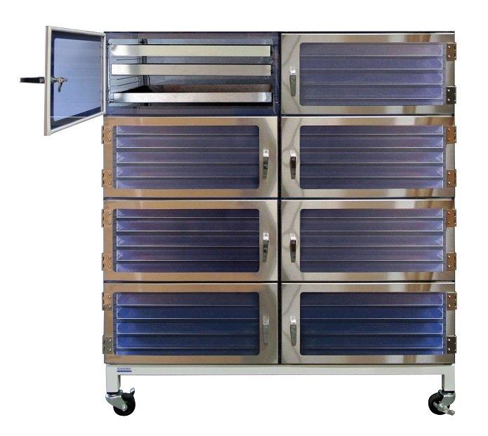 eight door desiccator cabinet esd stainless steel drawer