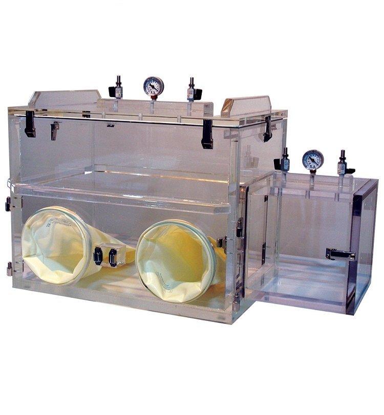 vacuum glove-box-airlock