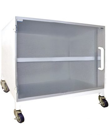 Polypropylene Storage Cabinet with 1 Shelf