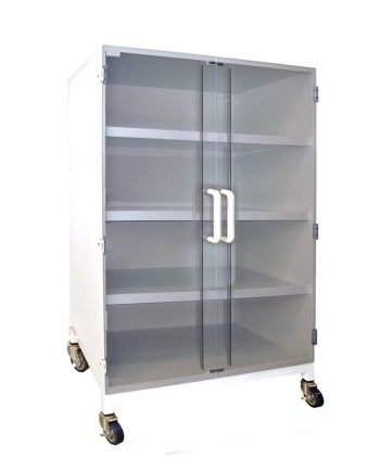 Polypropylene Storage Cabinets - 3 Shelves