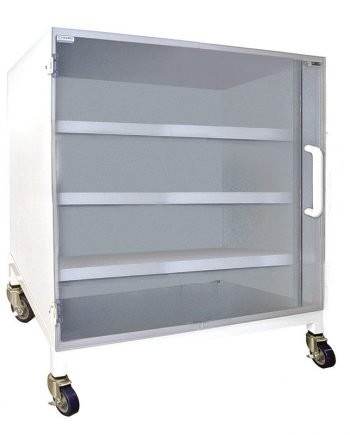 Polypropylene Storage Cabinet with 3 Shelf